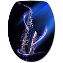 Sticker Abattant de WC Saxo