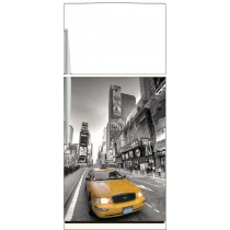 Sticker frigo New York Taxi - ou sticker magnet frigo