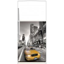 Sticker frigo New York Taxi - ou sticker magnet frigo