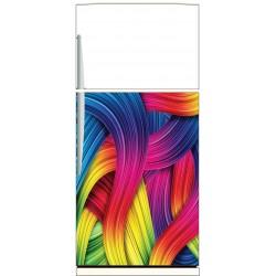Sticker frigo Couleurs - ou sticker magnet frigo