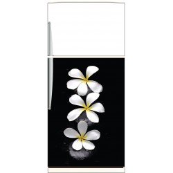 Sticker frigo Fleurs - ou sticker magnet frigo
