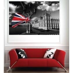 Affiche poster ville Londres