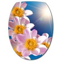Sticker Abattant de WC Fleurs