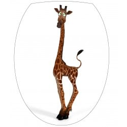 Sticker Abattant de WC Girafe