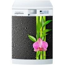 Stickers lave vaisselle ou magnet lave vaisselle Bambous