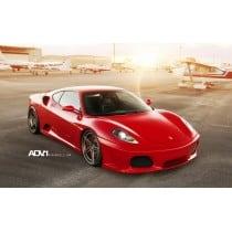 Stickers ou Affiche poster voiture Ferrari f430