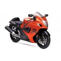 Stickers ou Affiche poster moto Suzuki hayabusa orange