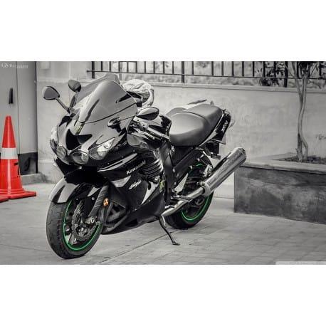 Stickers ou Affiche poster moto Ninja zx14