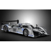 Stickers ou Affiche poster voiture Peugeot 908 hybrid race