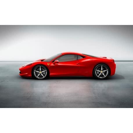 Stickers ou Affiche poster voiture Ferrari 458 italia