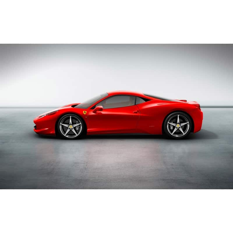 stickers ou affiche poster voiture ferrari 458 italia art d co stickers. Black Bedroom Furniture Sets. Home Design Ideas