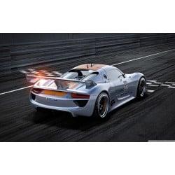 Stickers ou Affiche poster voiture Porsche 918