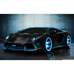 Stickers ou Affiche poster voiture The aventador