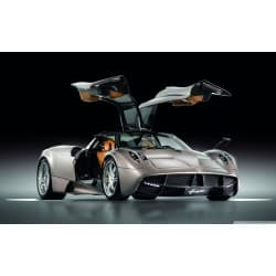 Stickers ou Affiche poster voiture Pagani huayra