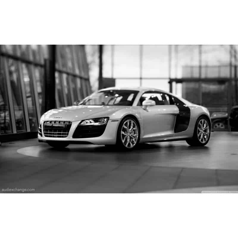 stickers ou affiche poster voiture audi r8 v12 art d co stickers. Black Bedroom Furniture Sets. Home Design Ideas