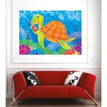 Affiche poster tortue
