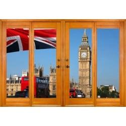 Stickers fenêtre trompe l'oeil London