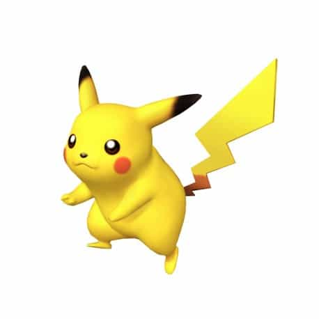 sticker Autocollant Pikachu