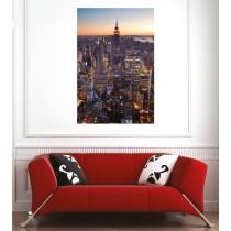 Affiche poster vue sur New York