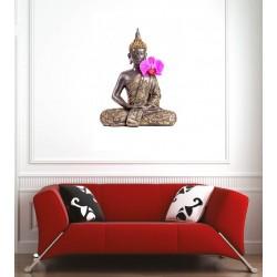 Affiche poster Bouddha orchidée
