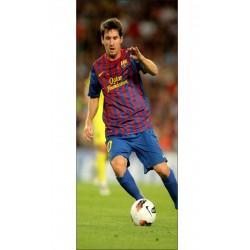 Papier peint porte déco - Lionel Messi