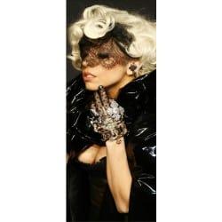 Papier peint porte déco - Lady Gaga