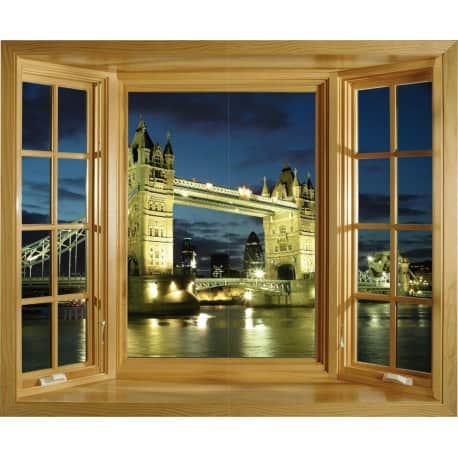 Sticker Fenêtre Londres