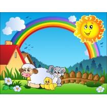 Stickers enfant géant Soleil