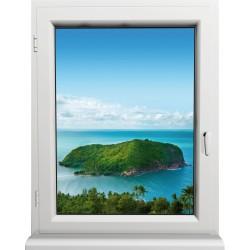 Sticker Fenêtre Caraibe