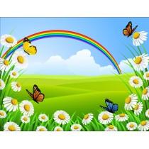 Stickers enfant géant Papillons