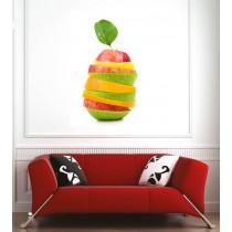 Affiche poster pomme citron