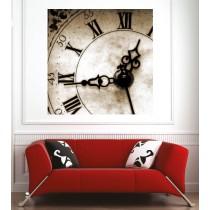 Affiche poster horloge