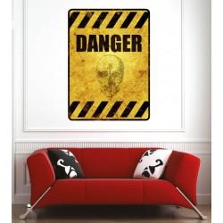Affiche poster danger