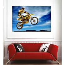 Affiche poster motocross