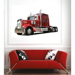 Affiche poster camion poids lourd