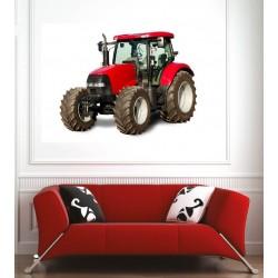 Affiche poster tracteur