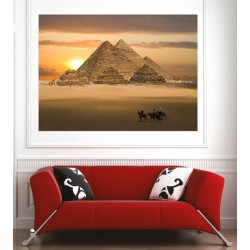 Affiche poster pyramide