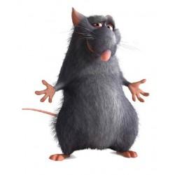 sticker Autocollant enfant ratatouille