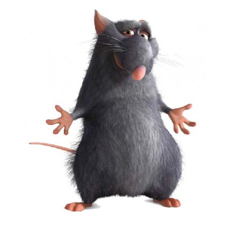 sticker Autocollant ratatouille