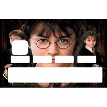 2 Stickers Autocollants Skin Carte de Crédit CB Harry Potter