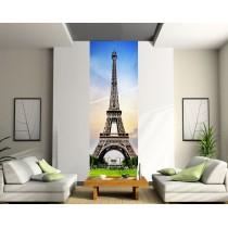 Papier peint lé unique Tour Eiffel