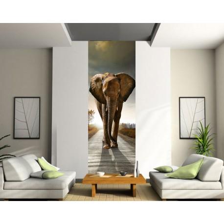 Papier peint lé unique Eléphant