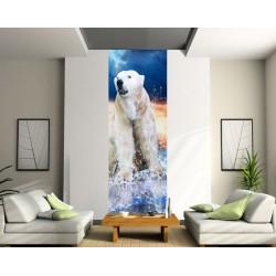 Papier peint lé unique Ours polaire