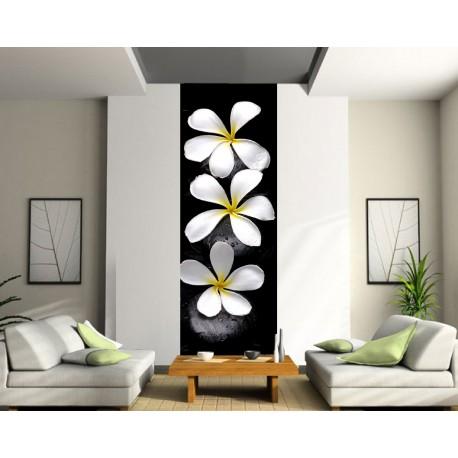 Papier peint lé unique Fleurs