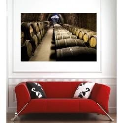 Affiche poster cave à vins
