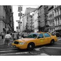 Sticker Mural New York Taxi