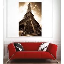 Affiche poster ville Paris Tour Eiffel