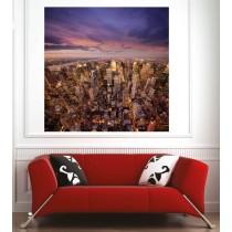 Affiche poster New York vue du ciel