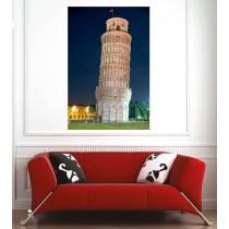 Affiche poster ville Italie Tour de Pise