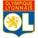 Stickers foot Olympique Lyonnais - OL